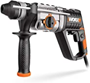 WORX 800W 26mm Rotary hammer, 2.5J, injection box