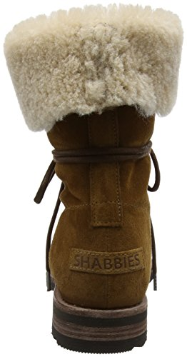 Shabbies Amsterdam Shabbies Amsterdam, Bottes Rangers femme Marron (Cognac)