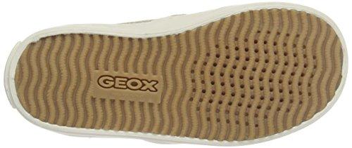 Geox Mädchen Jr Kiwi Girl D Low-Top Beige (Beigec5000)