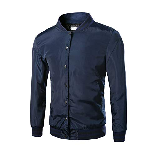 Gladiolusa giacca varsity uomo leggero bomber giacce da baseball jacket da college giubbotto marina militare m