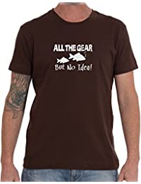 All The Gear But No Idea – Mens T Shirt From Rhino And Mugsy
