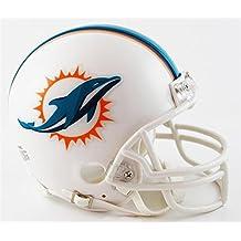 Riddell - Réplica de casco de fútbol americano, diseño de los Miami Dolphins