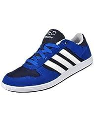 Zapatillas deportivas Adidas Skneo Lo zapatos de cuero azul-blanco-negro