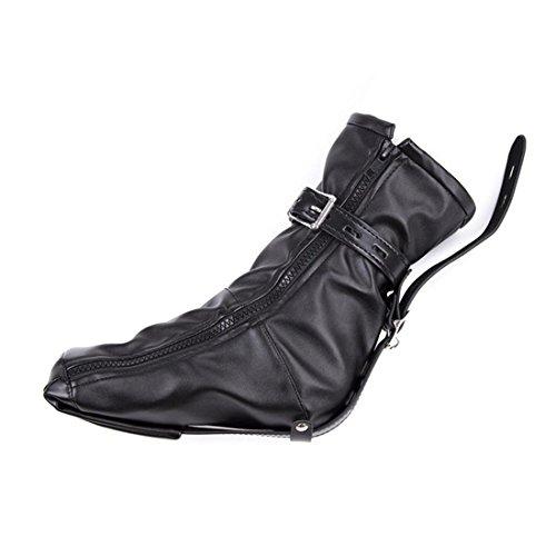 DuuoZy Erwachsene Spiele Spielzeug 1 Paar Fuß Bondage Stiefel, Reißverschluss Stiefel Schuh Haltegriffe für Frau (Mittelalterliche Schuhe)