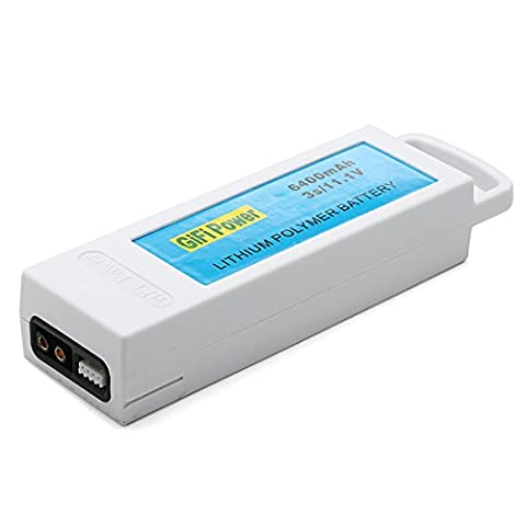 LaDicha Batterie Au Lithium De 11,1 V 6400mAh 3 S Pour Yuneec Q500 Q500 + Rc Quadcopter