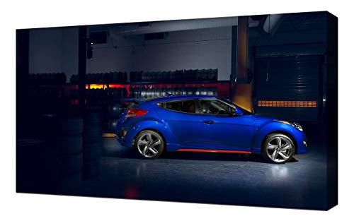 2014-Hyundai-Veloster-Turbo-R-Spec-V2-1080 - Canvas Art Print - Wall Art -  Canvas Wrap