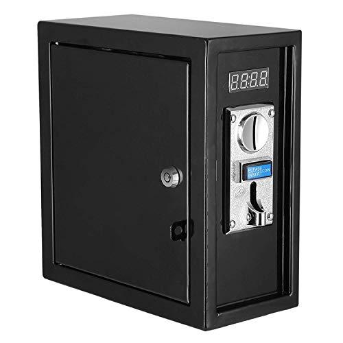 Mophorn Münzautomat 220V Münzprüfer 26 x 13 x 28 cm elektronisch Münz Zeitschalter AC 1250W DC 500 W mit Zeitanzeige für Automaten Electronicial Gerät (220V)