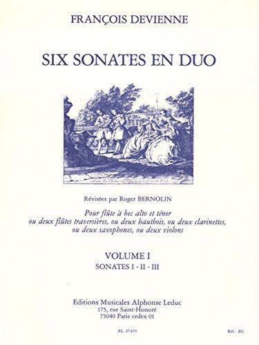 6 SONATES EN DUO VOLUME 1/SONATES 1-2-3/...