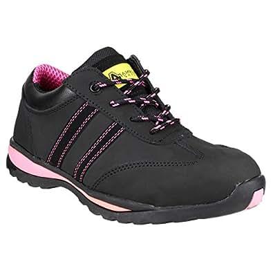 Chaussures de sécurité Amblers Steel FS47 pour femme (36 EUR) (Noir)