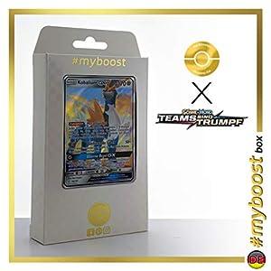 Kobalium-GX (Cobalion-GX) 106/181 - #myboost X Sonne & Mond 9 Teams Sind Trumpf - Box de 10 Cartas Pokémon Alemán