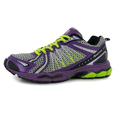 Tempo 2 Ladies Running Shoes [Purp/Silv/Yell ,6]