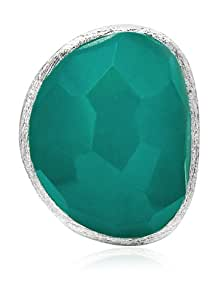 Lola Rose Boutique 'Rex' teal quartzite ring size small- Size L
