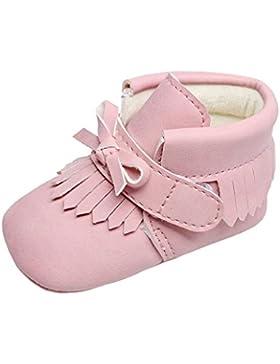 BZLine® Baby Jungen Mädchen Krippe Winter Stiefel Prewalker Warme Martin Schuhe