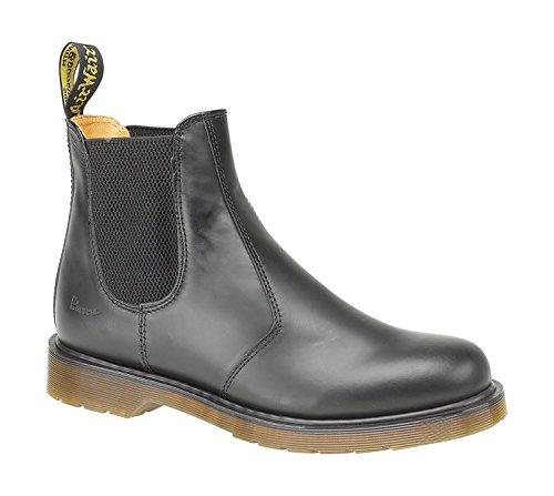 Dr martens :  2976-59 dealer bottes chelsea homme en cuir pVC schlupflasche Noir - Noir