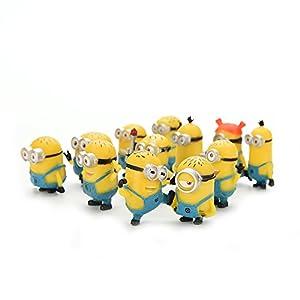 Bestim Incuk - Figuras de acción de Minions de la película Gru 2: Mi Villano Favorito 2