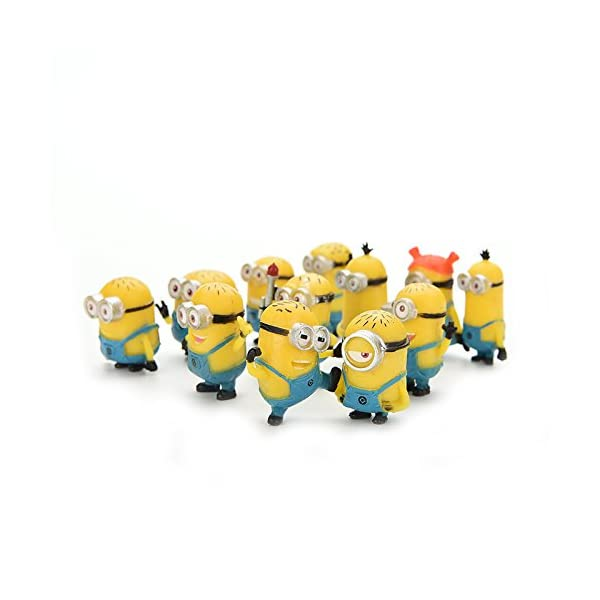 Bestim Incuk - Figuras de acción de Minions de la película Gru 2: Mi Villano Favorito 1