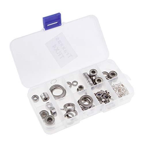 etall Lager Schrauben Muttern Pins Sortiment Kit für TRAXXAS TRX4 1/110 4WD RC Car Truck ()
