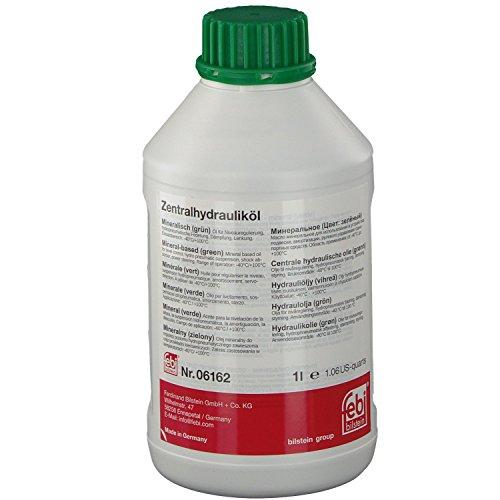 febi bilstein 06162 Hydrauliköl (mineralisch) für Zentralhydraulik (grün) 1 Liter