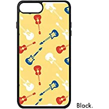 DIYthinker El Modelo Amarillo Guitarra Música Ilustrar phonecase Cover de Apple Caso 7 Caso Regalo iPhone