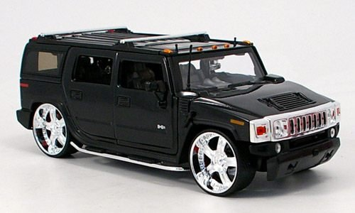 hummer-h2-tuning-noire-model-car-miniature-deja-montee-jada-124