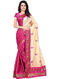 Sky Global Women's Bhagalpuri Silk Saree (Sky_2318)