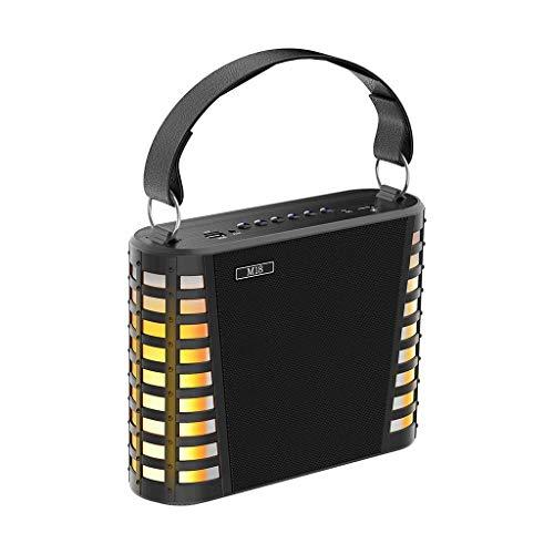 Huacat Bluetooth Lautsprecher Doppellautsprecher Tragbarer Bluetooth-Singlautsprecher mit Mikrofon kabellose Lautsprecher