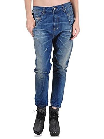Diesel - Jeans - Femme Bleu Distressed Blue