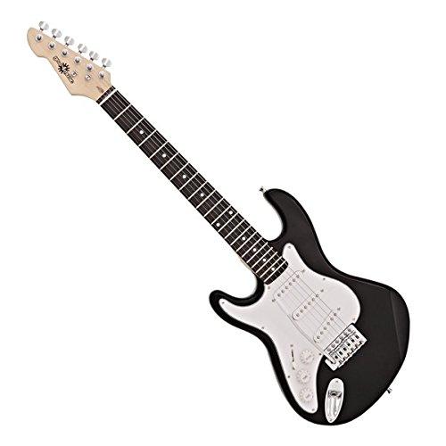 Guitarra Eléctrica LA 3/4 Zurda de Gear4music - Negro
