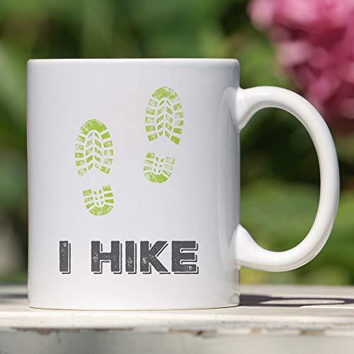Wandern Kaffeetasse Wanderer Geschenk Boot Print Design Geschenk zum Wandern Enthusiasten Naturliebhaber Abenteuer Sucher Top Sucher