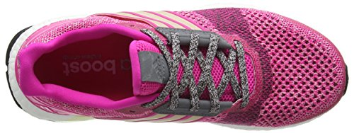 adidas Damen Ultra Boost ST W Laufschuhe Pink (Shock Pink/Halo Pink/Mineral Red)