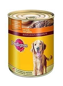 centro veterinario perro: Lata para perros adultos de pollo 800g | [Pack de 12]