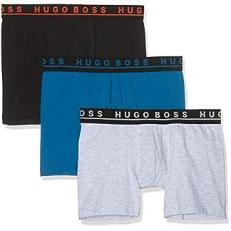 BOSS Boxer Brief Uni Logowaistband (Pack de 3) para Hombre