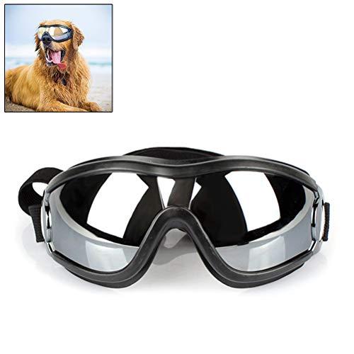 Ysoom Hundebrille Haustier Hund Sonnenbrille Eye Wear Hund Wasserdicht Schutz UV Sonnenbrille Schutzbrille für Groß Mittelhunde