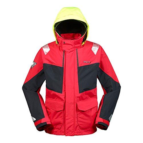 Musto Herren Br2 Coastal Coat Jacket Mantel True Red. Wasserdicht und atmungsaktiv