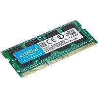 وحدة ذاكرة نوت بوك من كروشيال بسعة 4 جيجابايت دي دي ار 3 احادي 1600MT/s (PC3-12800) C1L11 سوديم 204 سناً 1.35 فولت/1.5 فولت CT51264BF160B 4GB CT51264BF160B