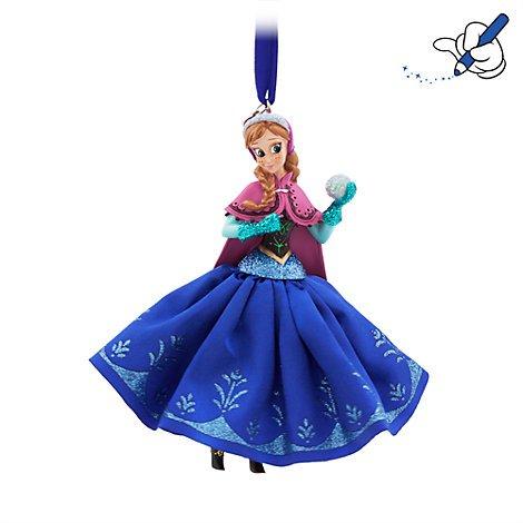 Unbekannt Anna, Sonnenspirale, Frozen, offizielles Disney Weihnachten Ornament (Beauty Beast Chip Kostüm)