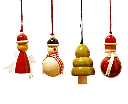 Maya Organic Handcrafted Wooden Christmas Decor : YULETS - Collection 1