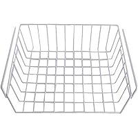 URIJK Hängekorb aus Metall Aufbewahrungskorb Schrankkorb für Küchenschränke Kleiderschränke Regale Kühlschrank Unterbauschrank UnterbauRegal