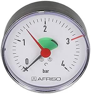 Afriso Heizungsmanometer 0 2 5 4 Bar 3 8 Axial 63 Mm Baumarkt