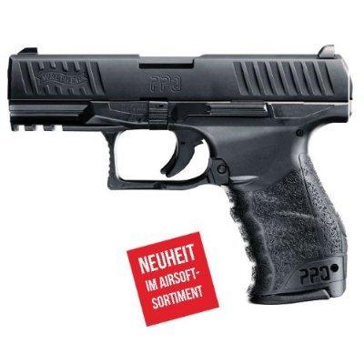 Preisvergleich Produktbild PEKL Softair - Softairpistole WALTHER PPQ - von Umarex & 1000 Schuss Munition