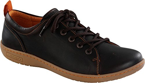 Birkenstock Shoes ISLAY DAMEN Damen Derby Schnürhalbschuhe Dunkelbraun