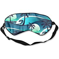 Tropical Palm 99% Eyeshade Blinders Sleeping Eye Patch Eye Mask Blindfold For Travel Insomnia Meditation preisvergleich bei billige-tabletten.eu