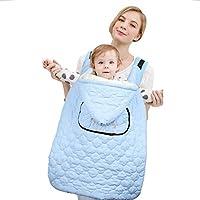 Blau Babytrage W/ärme Decke Carrier Cover Baby Schlafsack Abdeckung Babytrage Bauchtrage f/ür Fr/ühling Herbst Winter