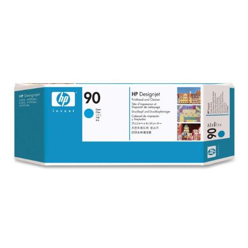 HP original No.90 CIAN PRINTHEAD + LIMPIADOR
