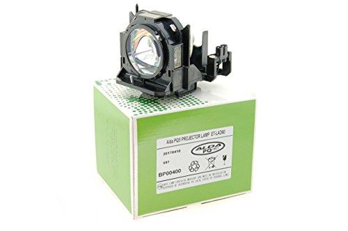 Alda PQ Beamerlampe ET-LAD60 für PANASONIC PT-D5000, PT-D5000ES, PT-D6000, PT-D6000ELK, PT-D6000ULS, PT-DW530, PT-DW6300, PT-DW640, PT-DW730ELS, PT-DW730ES, PT-DW740EK, PT-DW740ES, PT-DX500E, PT-DX610, PT-DX800S, PT-DX810EK, PT-DX810ES, PT-DZ570E, PT-DZ6700, PT-DZ6710E, PT-DZ680, PT-DZ770E, PT-DZ770EK, PT-DZ770EL Projektoren, Lampenmodul mit Gehäuse