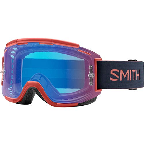 Smith Squad MTB Mountainbike Brille Erwachsene Unisex Red Rock, One Size Red Shield Crystal