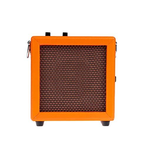 Homyl Tragbarer Mini 3W-Gitarrenverstärker-Verstärker Akustikgitarre-Übungsverstärker