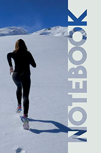 Notebook: Winter Running Gear Nifty Composition Book for Marathons 2019 Training Notes