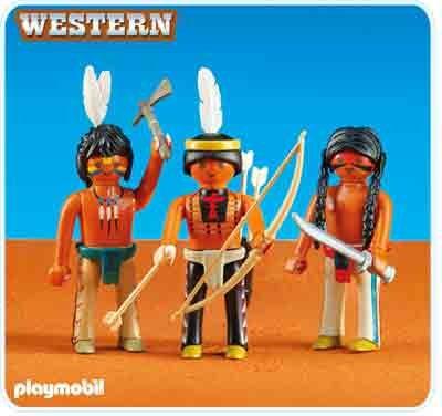 PLAYMOBIL-Grupo Indios Sioux