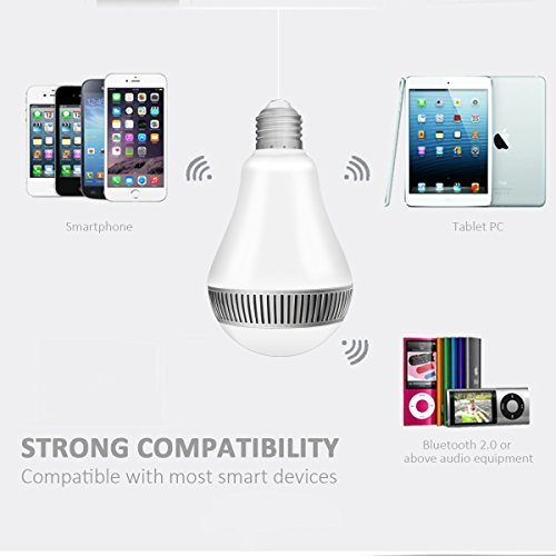 Zoom IMG-2 lampadina bluetooth altoparlante morpilot led